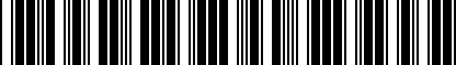 Barcode for 200135718