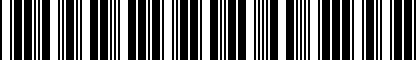 Barcode for 200153678