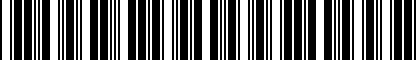 Barcode for 200161768