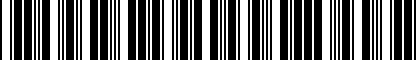 Barcode for 200168435