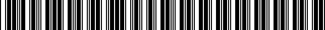 Barcode for 94511CA040