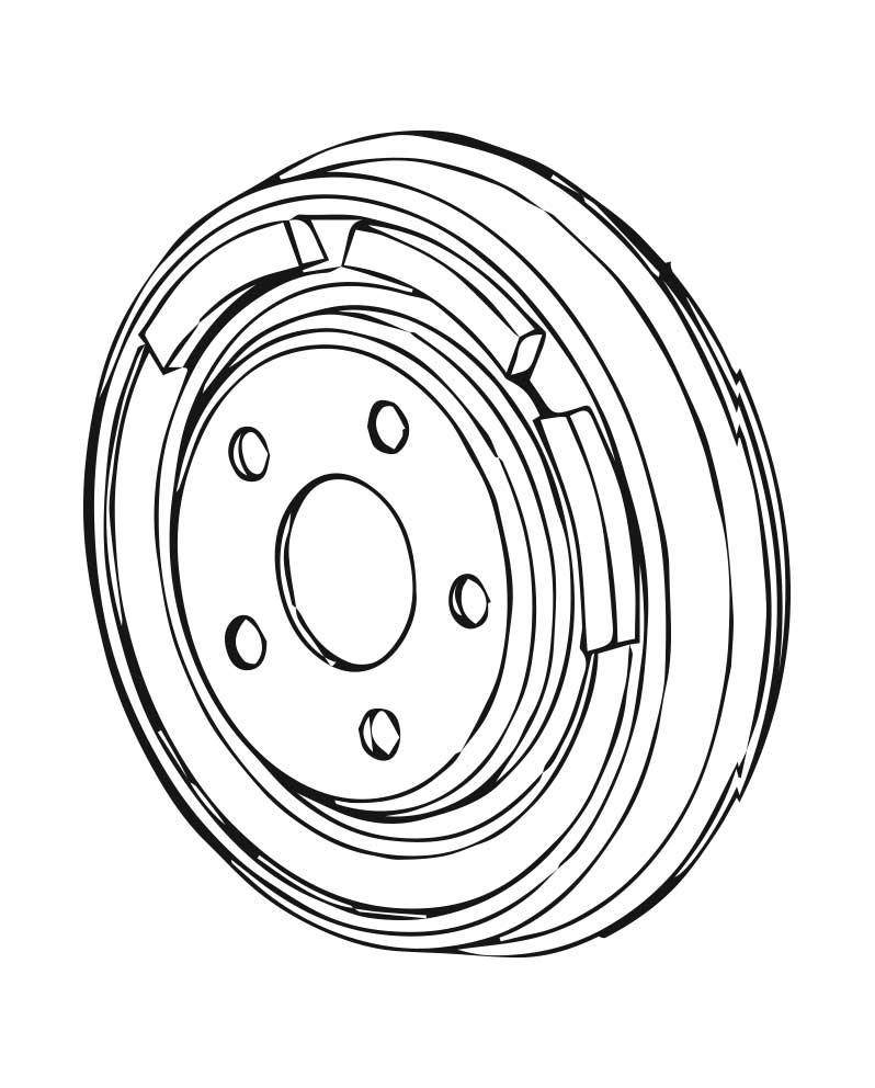 Brake Drums for 1997 Subaru Impreza