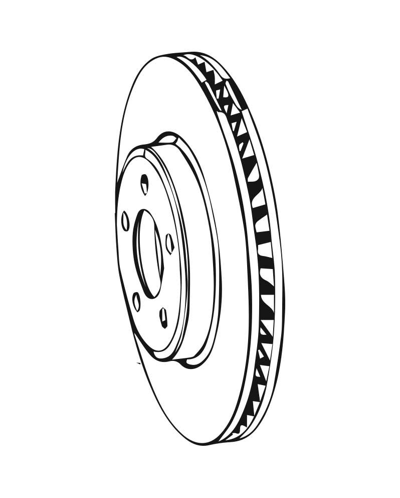 Brake Rotors for 1985 Subaru XT
