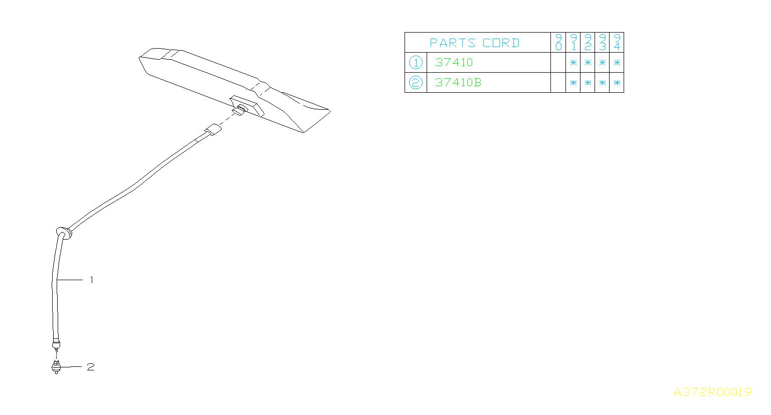 737411752  Cablespeedometer  transmission Ecvt  system