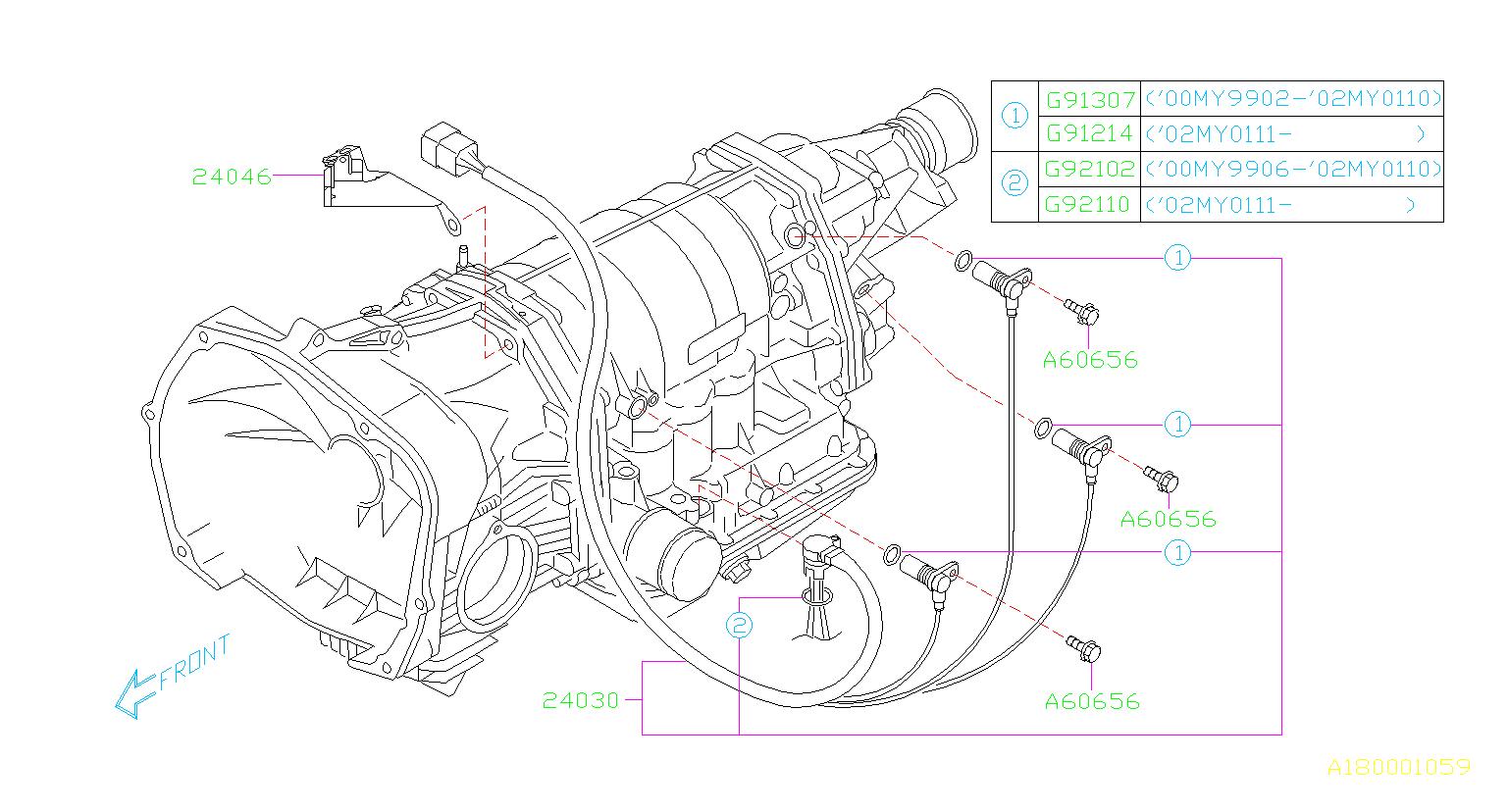 24030aa072 vehicle speed sensor genuine subaru part Subaru 2.0 Engine Diagram