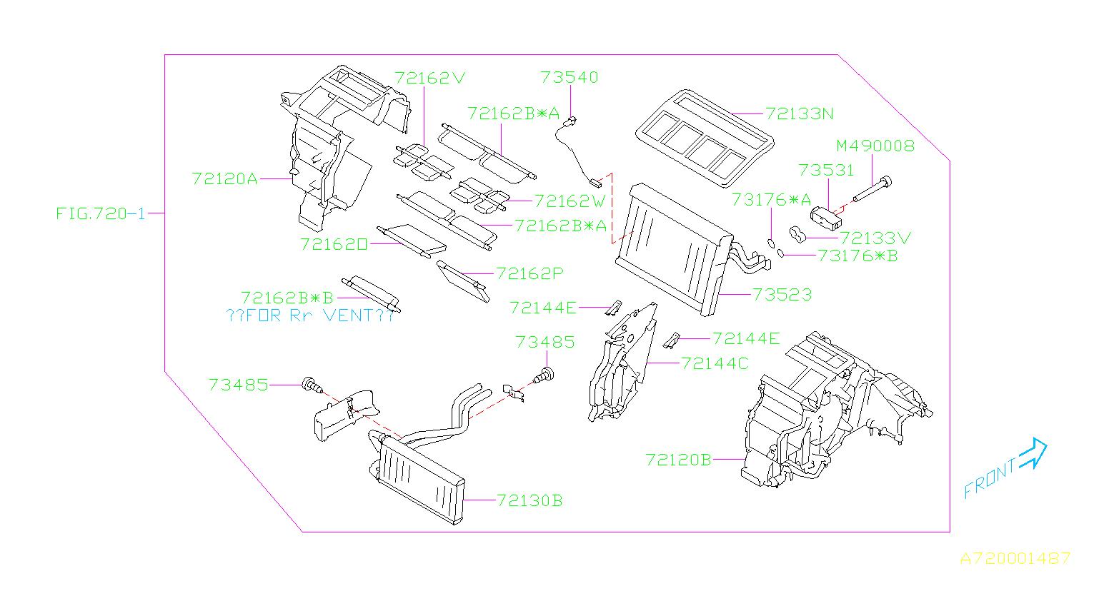 2016 Subaru Outback 2 5l Cvt Limited Tapping Screw Truss Head - 045104160