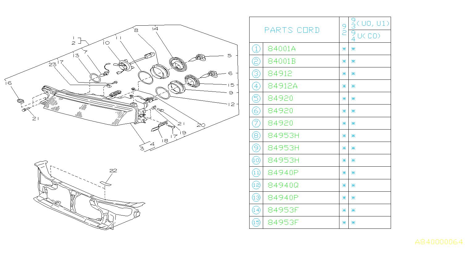 84920ke030 Fog Light Bulb Lamp Maintenance Projector