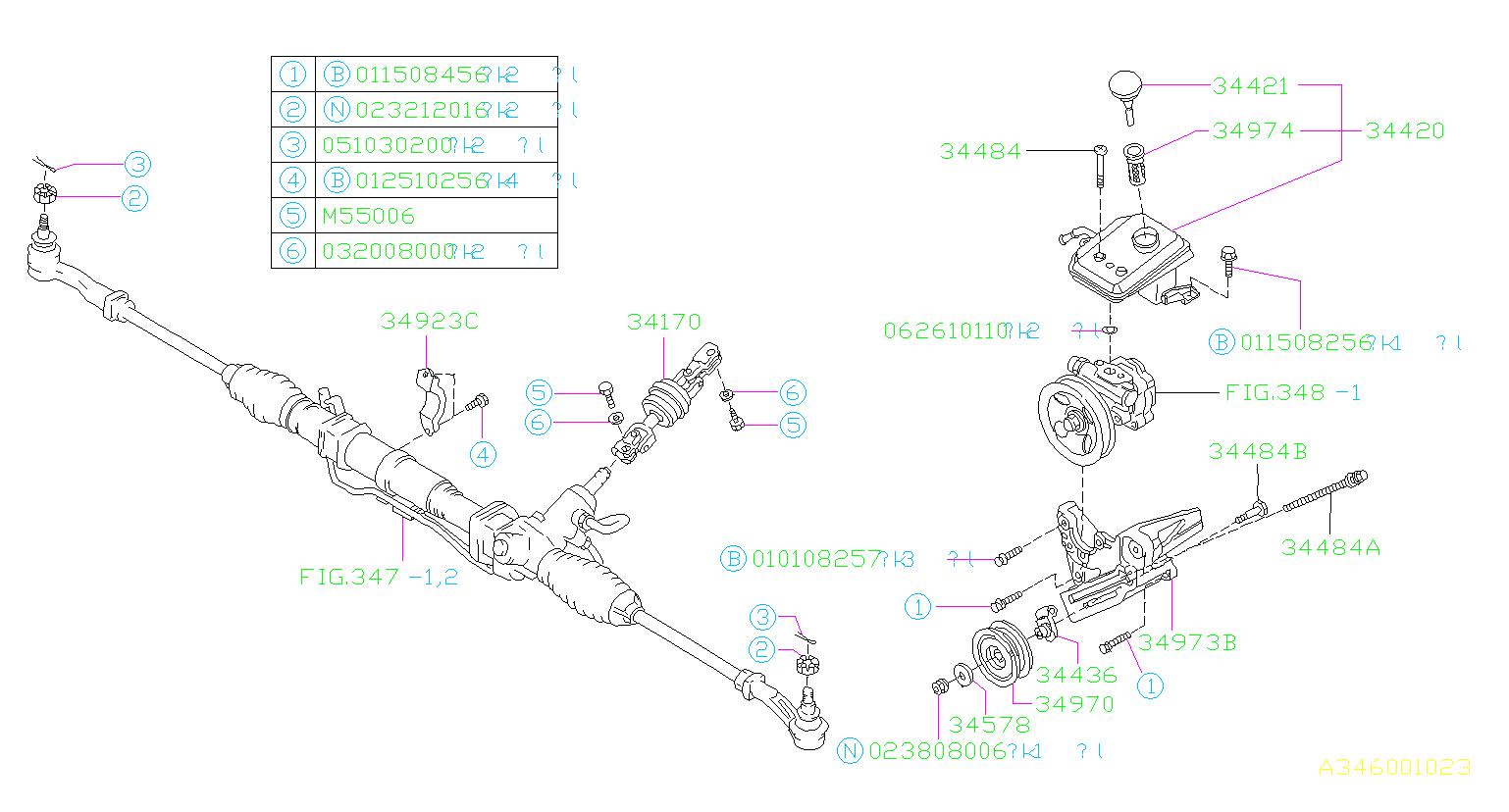 34438ac040 - Power Steering Reservoir Cap