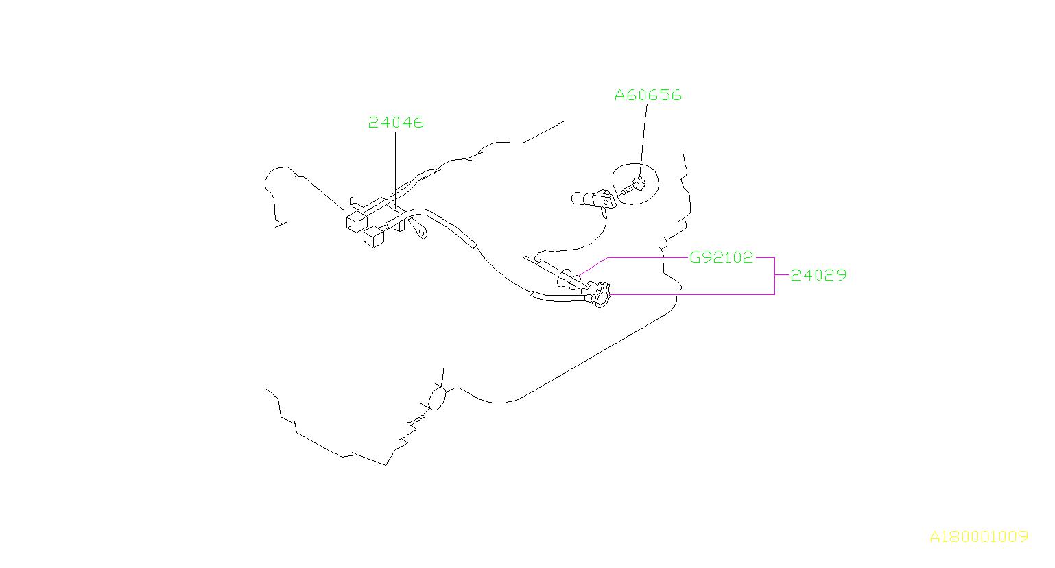 24029aa281 - Vehicle Speed Sensor