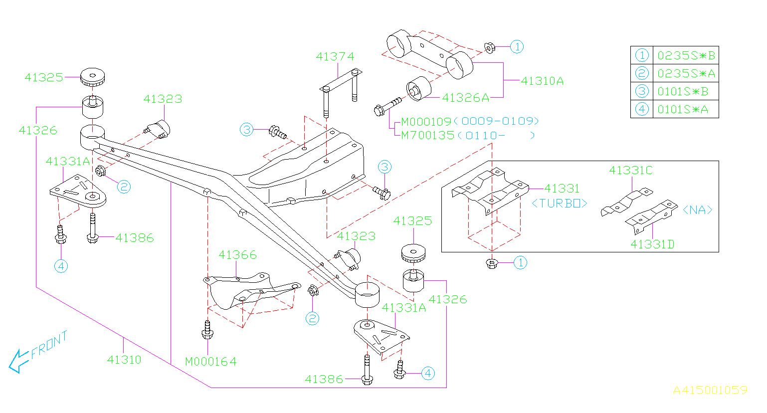 901000109 - Flange Bolt  Suspension  Rear  Link