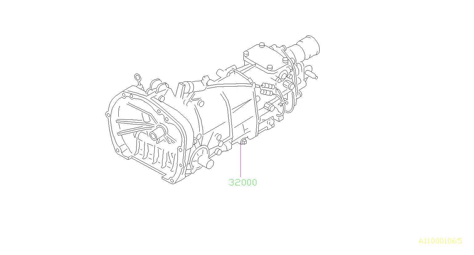 32000aj170 - Manual Transmission Assembly