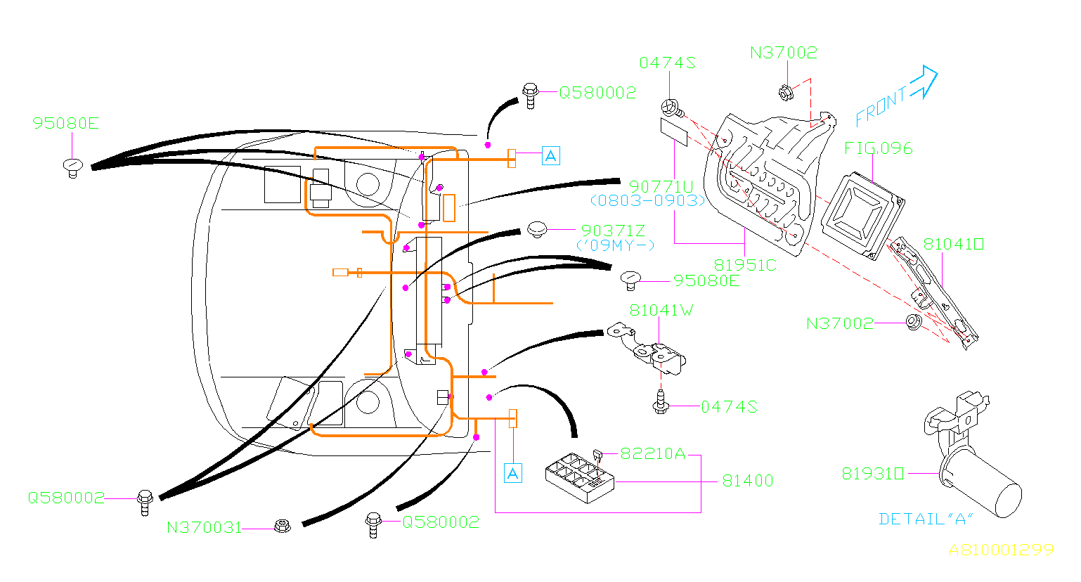 2010 subaru wrx cover wiring main harness electrical. Black Bedroom Furniture Sets. Home Design Ideas