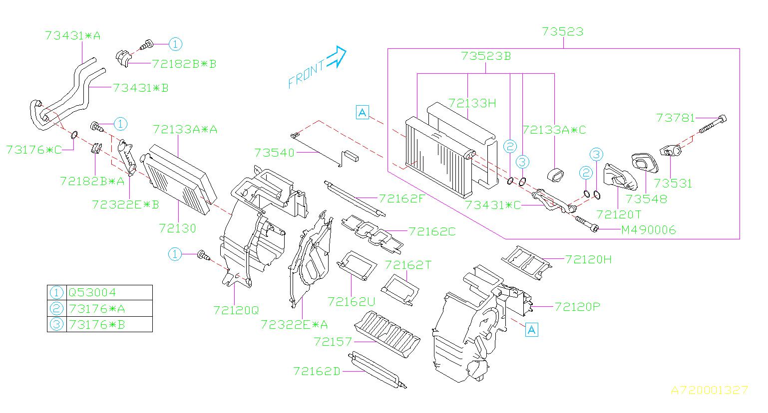 73531yc001 - Expansion Valve-cooling  Heater  System  Unit