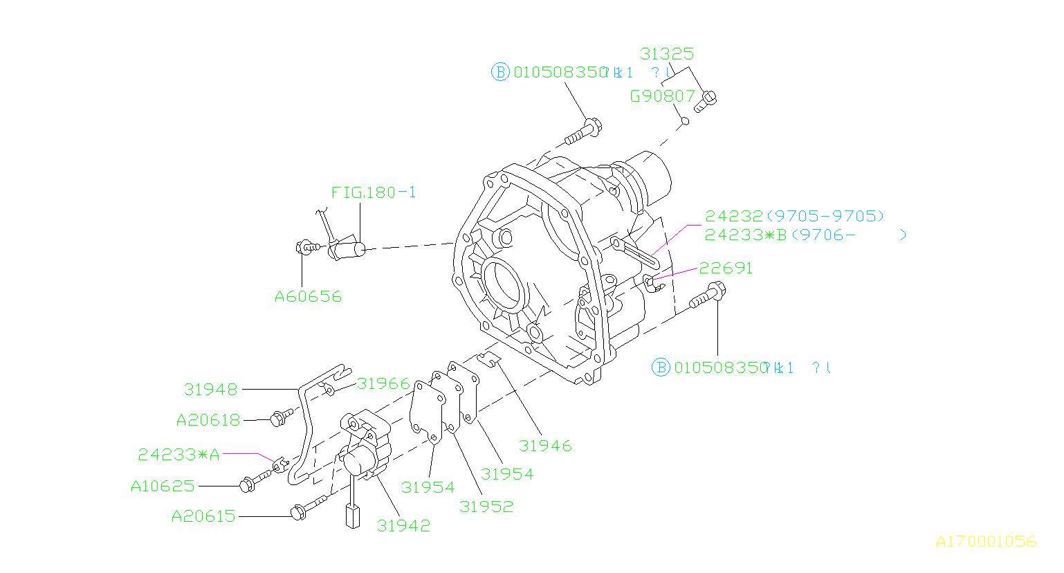 31942AA090  Valve assemblytransfer clutch M 926783