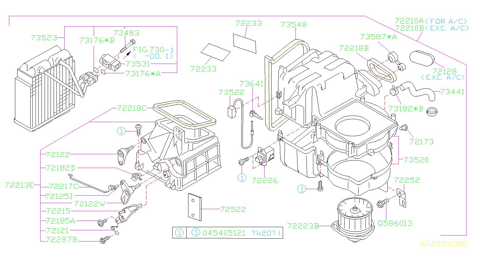 73540fc021 - A  C Evaporator Temperature Sensor