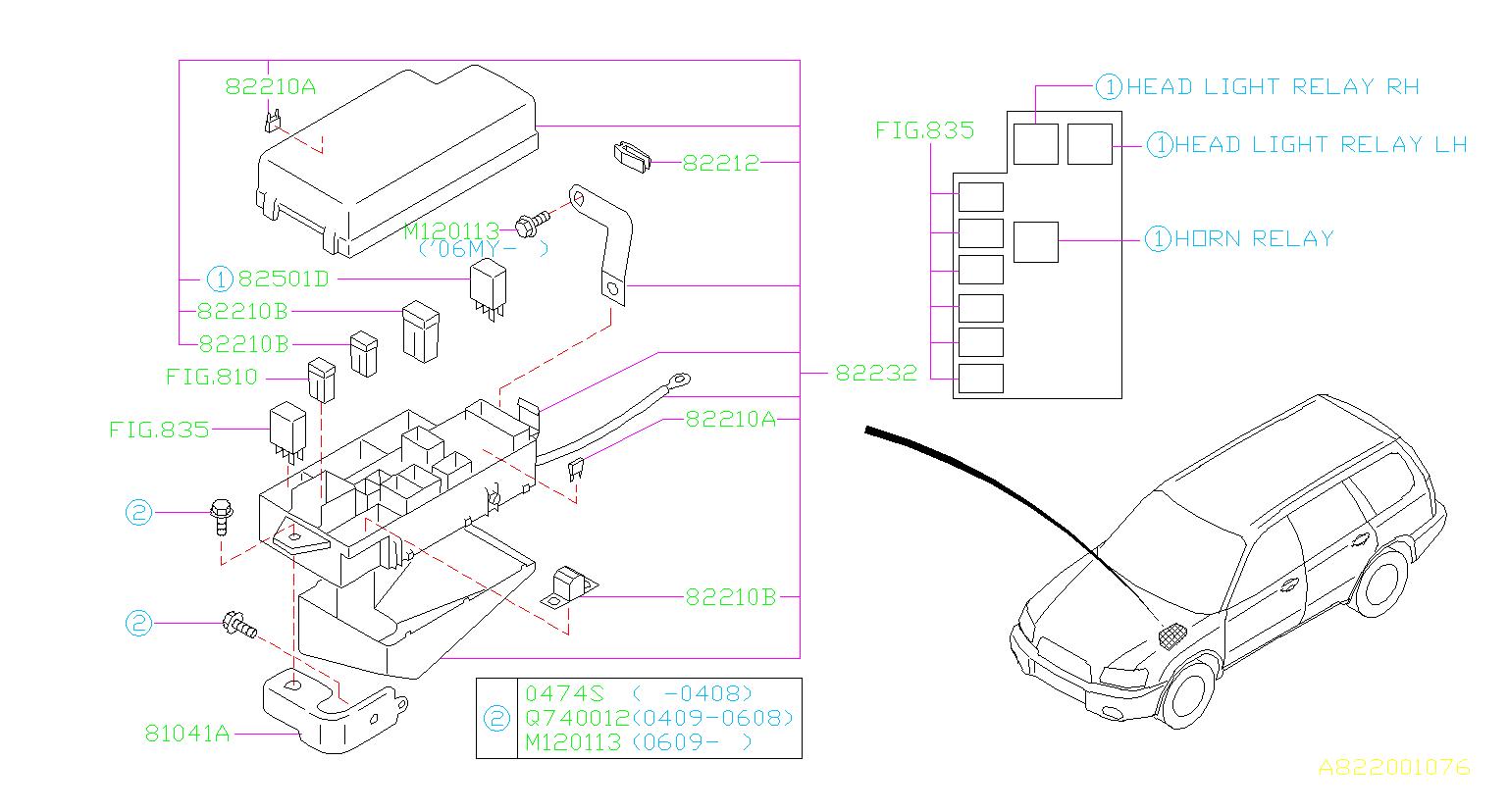 82211fc120 - Fuse-main  Box