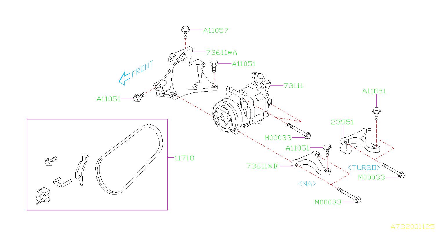 73111sc020  C Compressor  An A  C Compressor That May Or