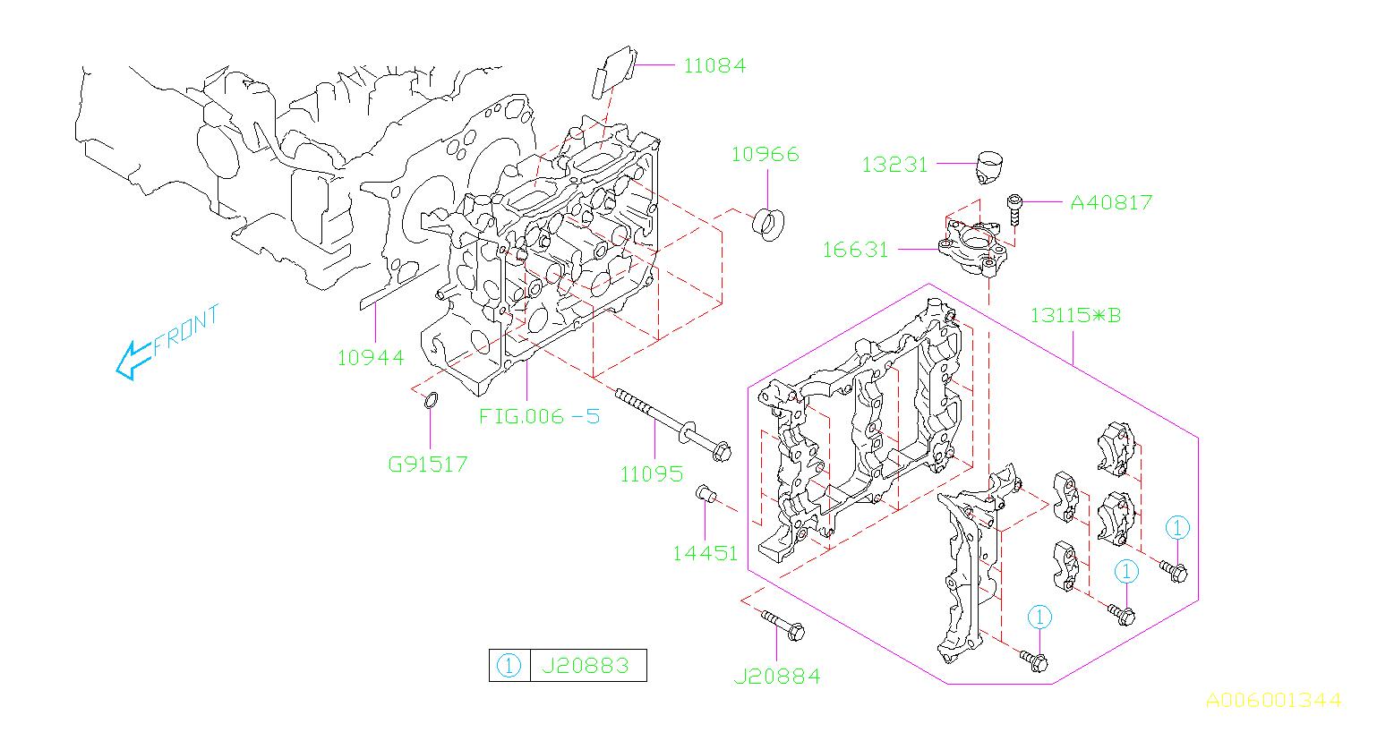 Subaru Forester Engine Cylinder Head Gasket. Gasket ...