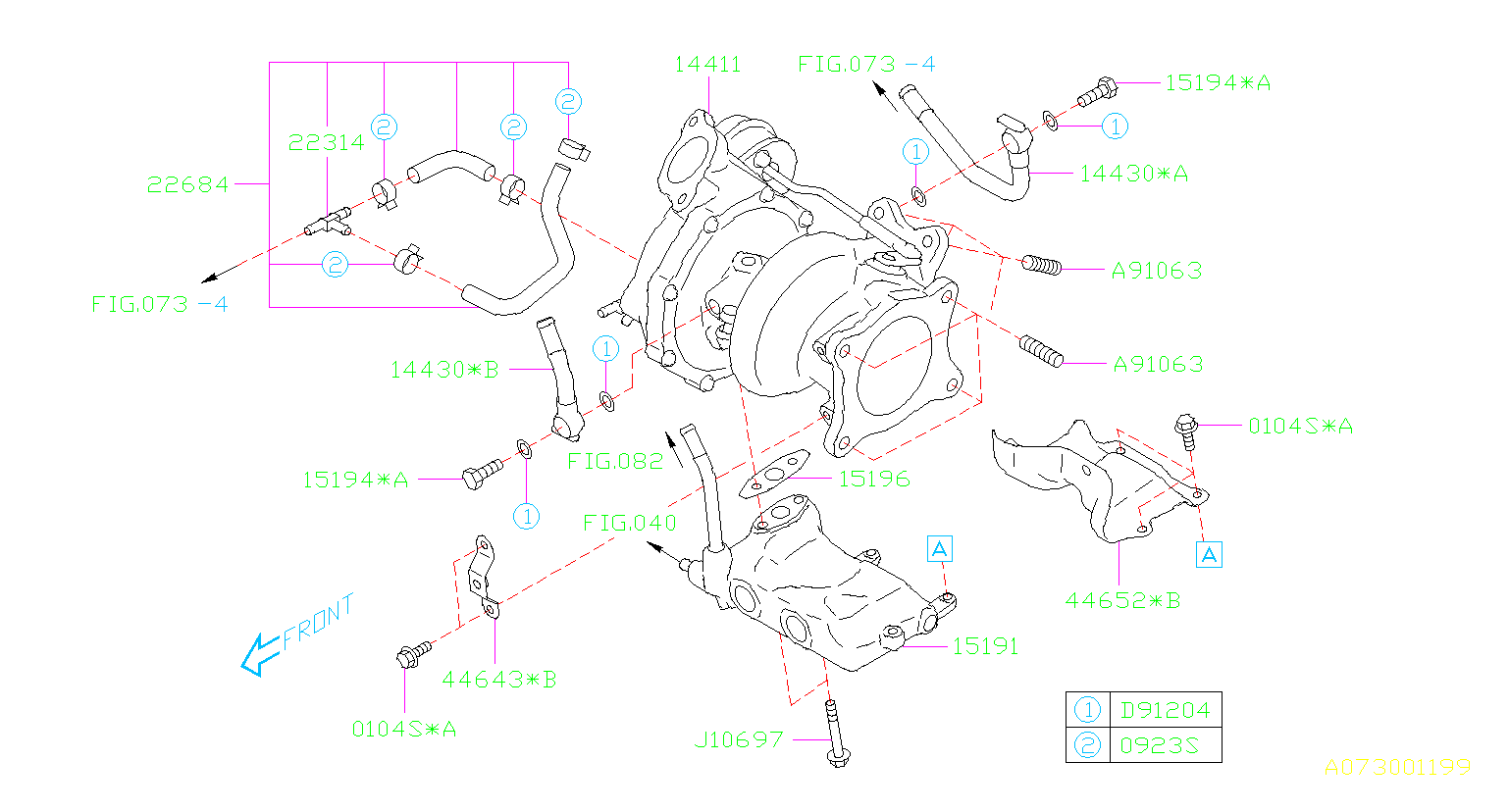 subaru wrx parts line oil turbocharger 0l air bolt 6mt base diagram duct engine turbo system stud cylinder cooling charger
