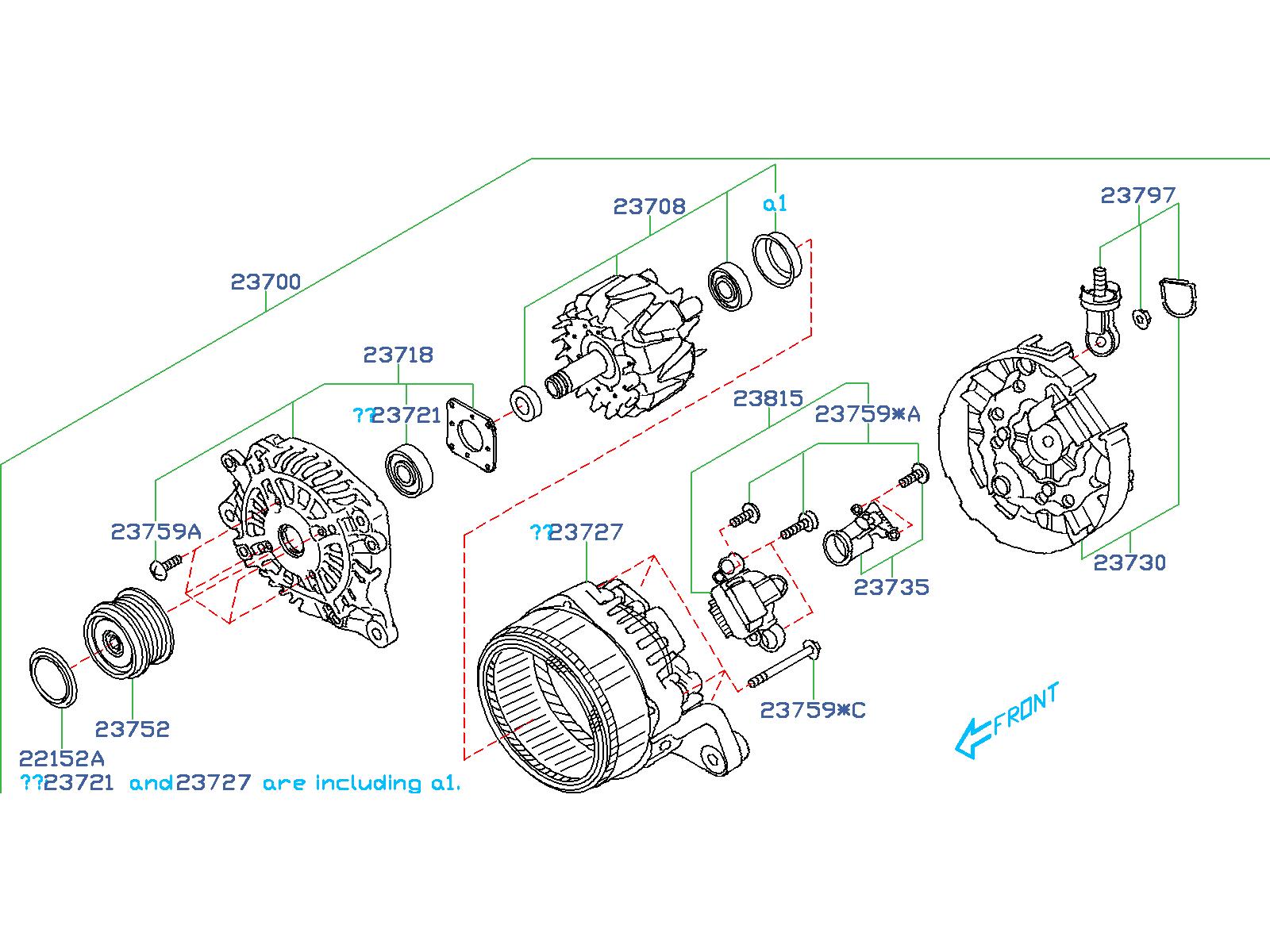 Subaru Forester Alternator Diagram