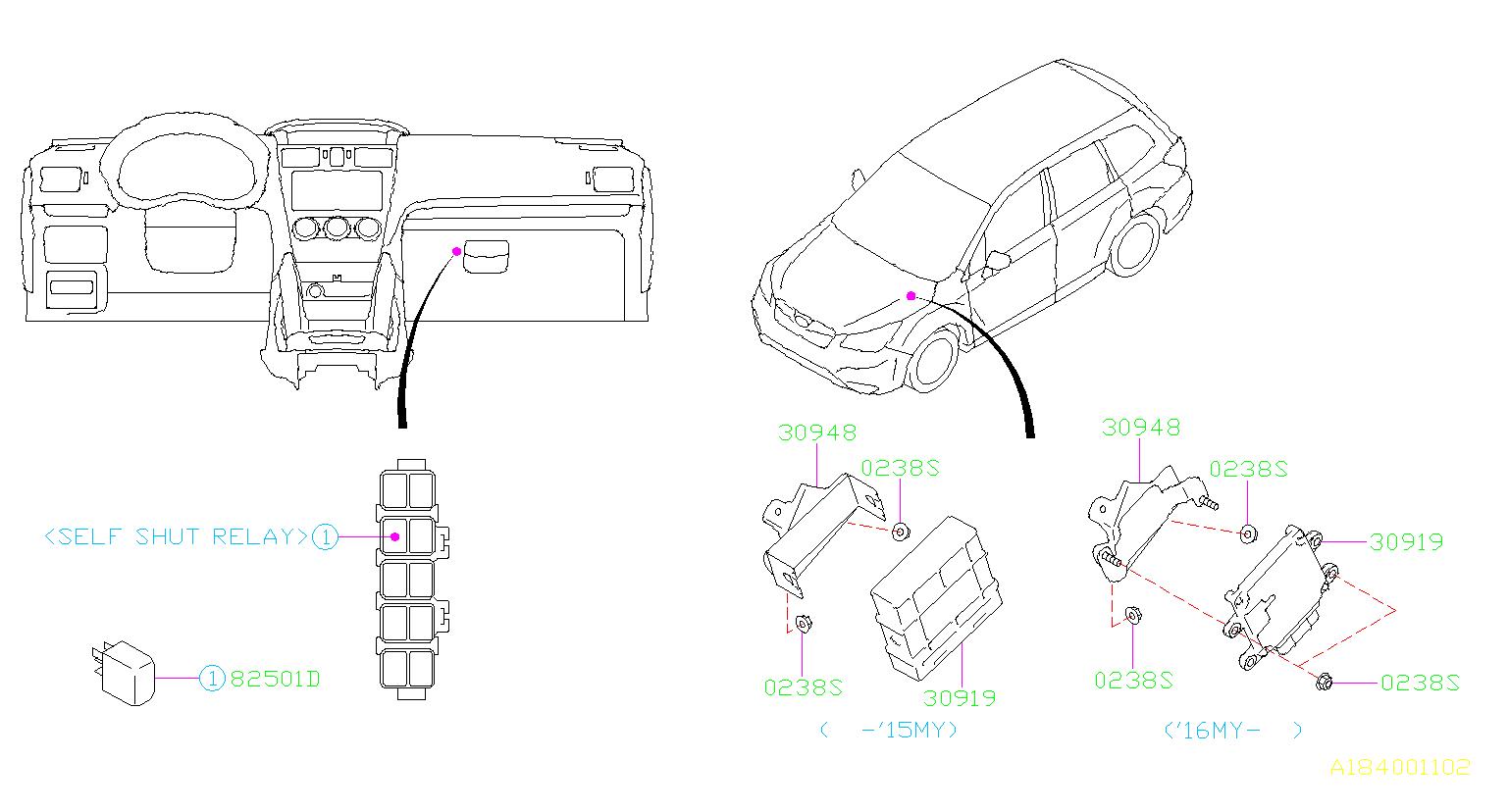 Subaru Forester Automatic Transmission Control Module