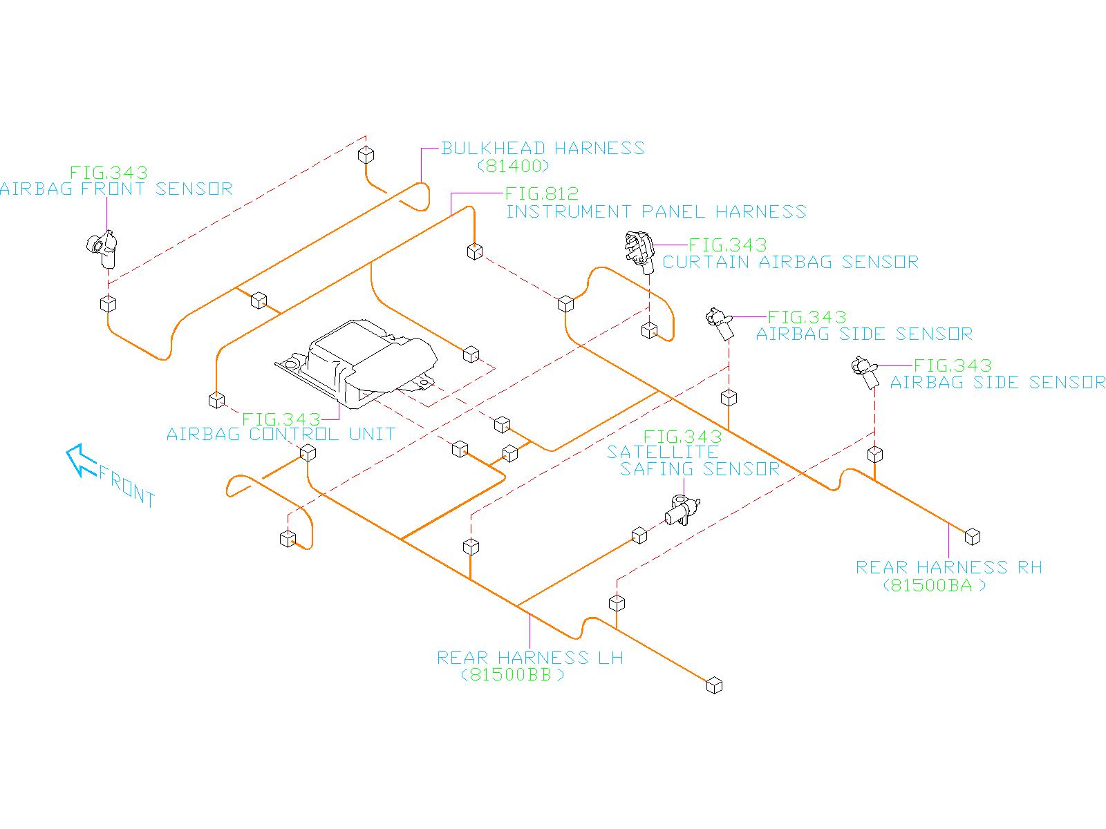82211AL120 - Fuse - Genuine Subaru Part