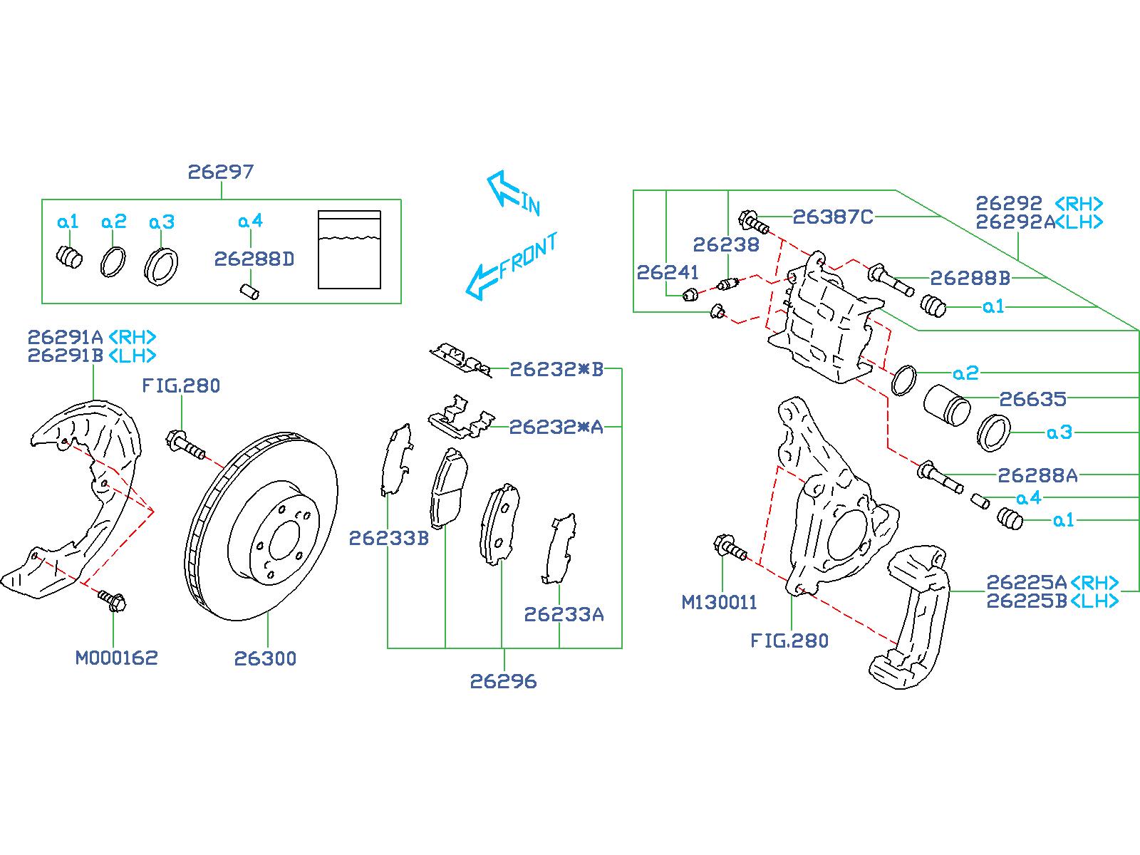 2017 Subaru Brz  20d  6mt Limited Disc Brake Rotor  Front
