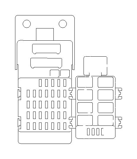 86111ag011 - turn  u0026 hazard unit  electrical  body  fuse  box  relay