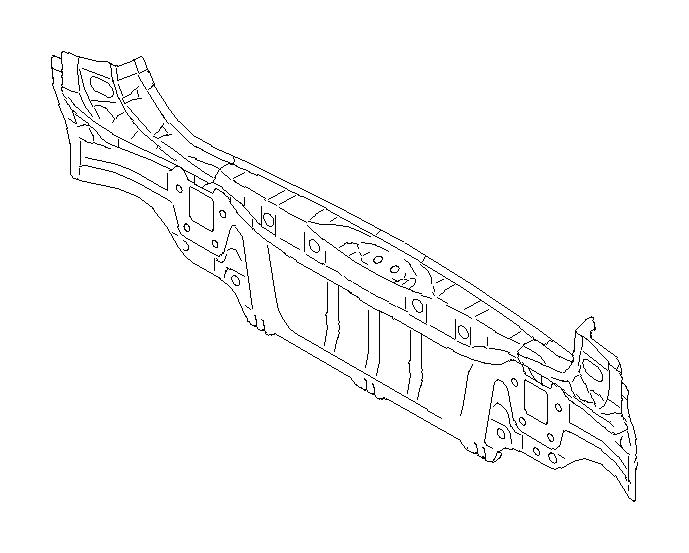 52401aj00a9p - Rear Body Reinforcement  Rear   Skirt Complete Wagon