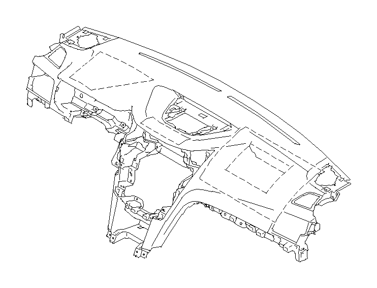 66050aj00a - Dashboard Panel
