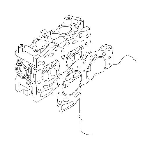 11044aa633 - gasket-cylinder head  system  engine  cooling