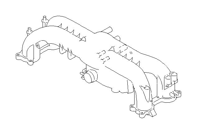 2009 subaru outback 2 5l turbo 5at xt limited manifold