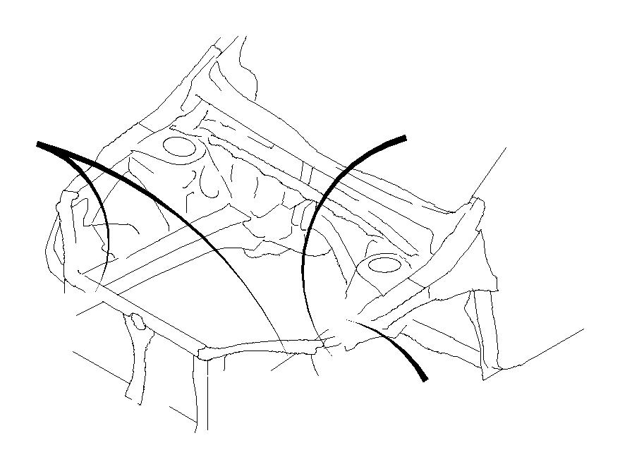 81200fj534 - harness-front