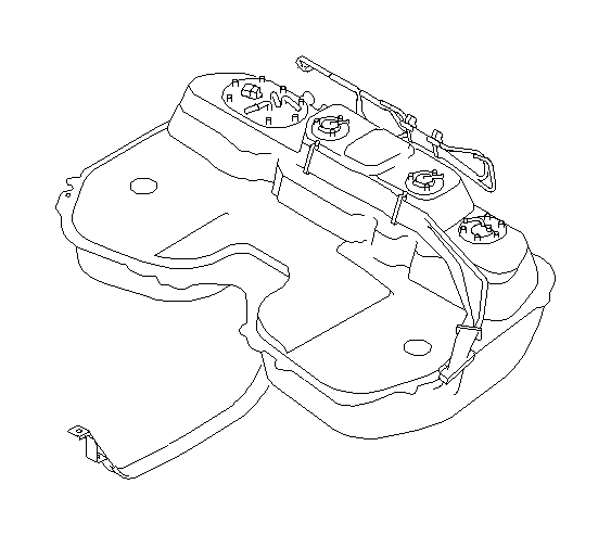 2007 subaru impreza band assembly