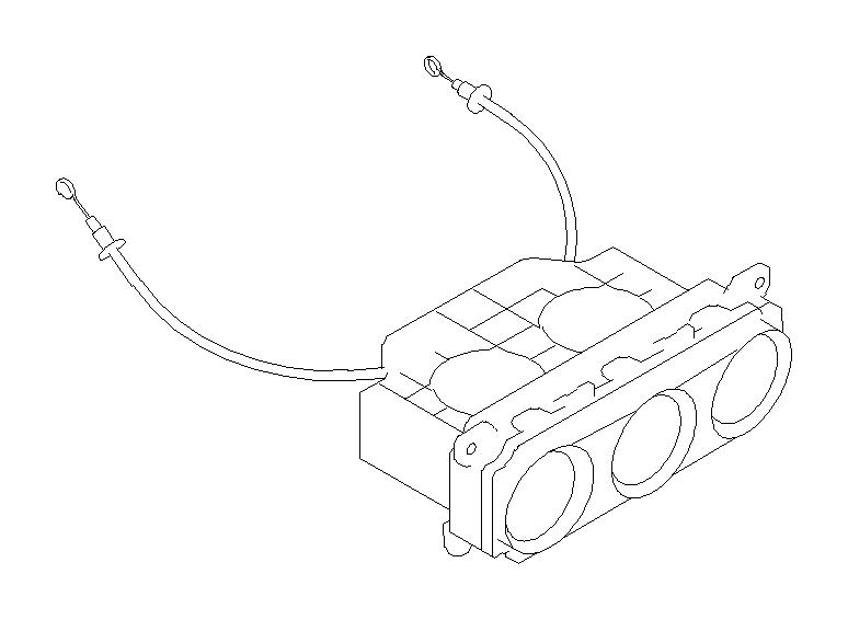 2018 subaru forester knob-fan  heater  control  single - 72363fj060