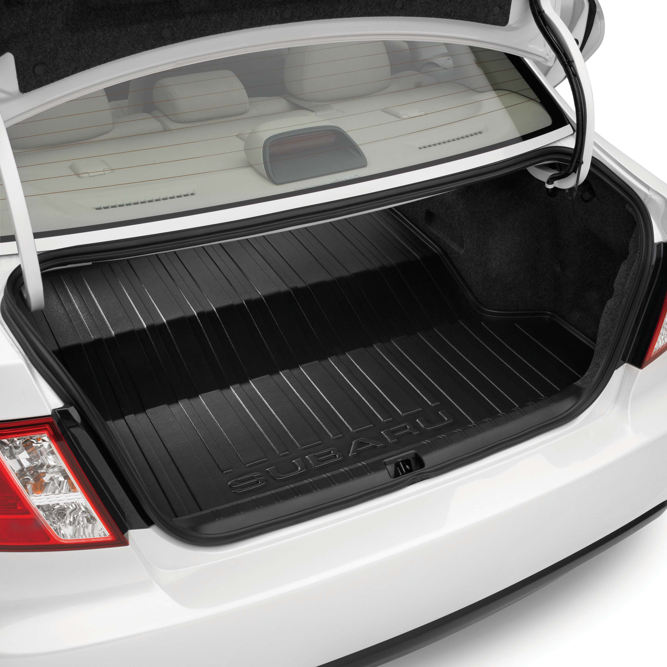 Shop genuine 2013 subaru impreza accessories subaru of america cargo tray sedan vanachro Image collections