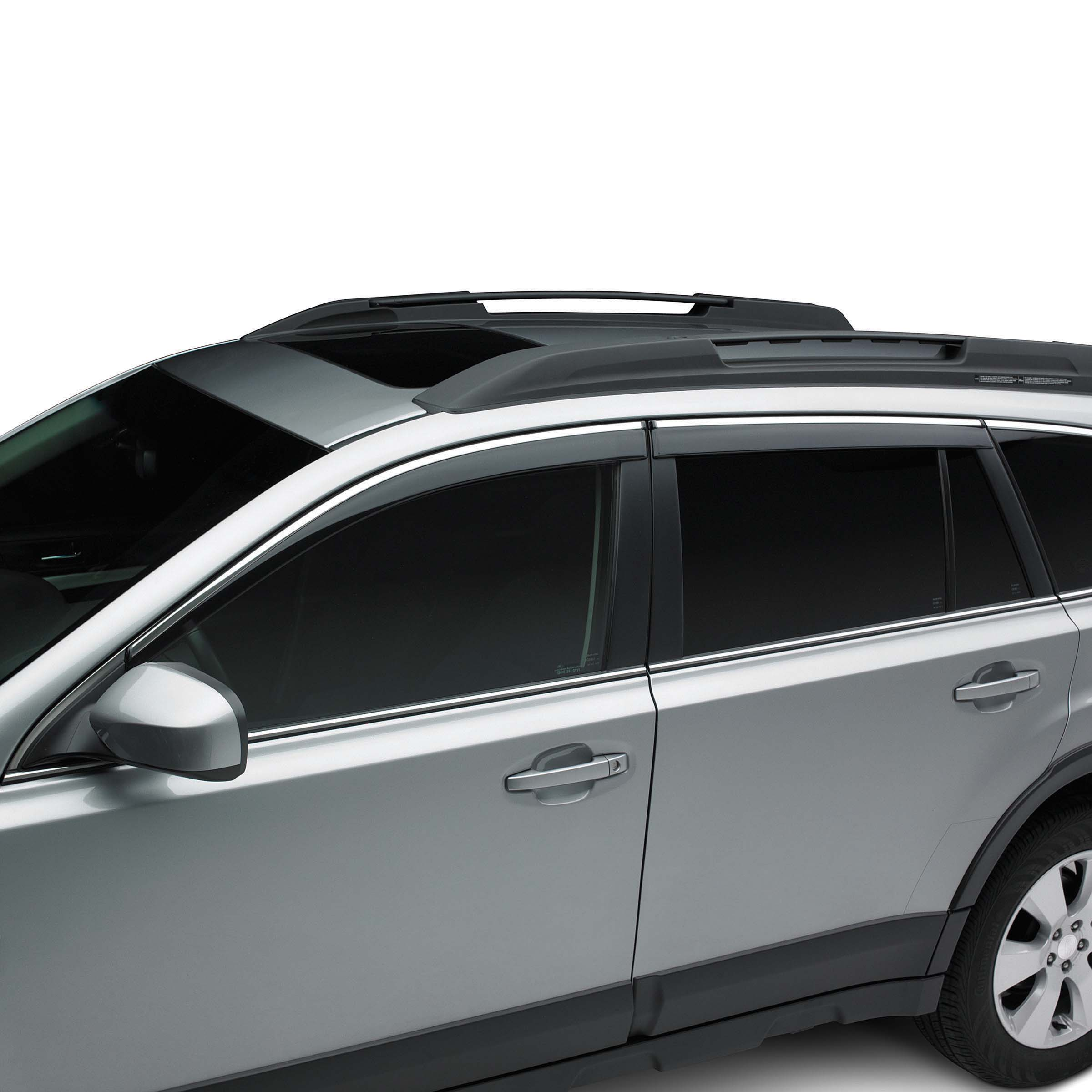 Shop genuine 2012 subaru outback accessories subaru of america side window deflectors vanachro Images