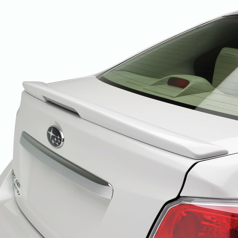 Shop genuine 2013 subaru impreza accessories subaru of america trunk spoiler 4dr vanachro Image collections