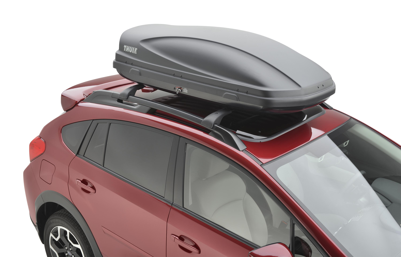 Thule Roof Storage 2016 Subaru Crosstrek Limited 2.0L CVT Roof Cargo Carrier ...
