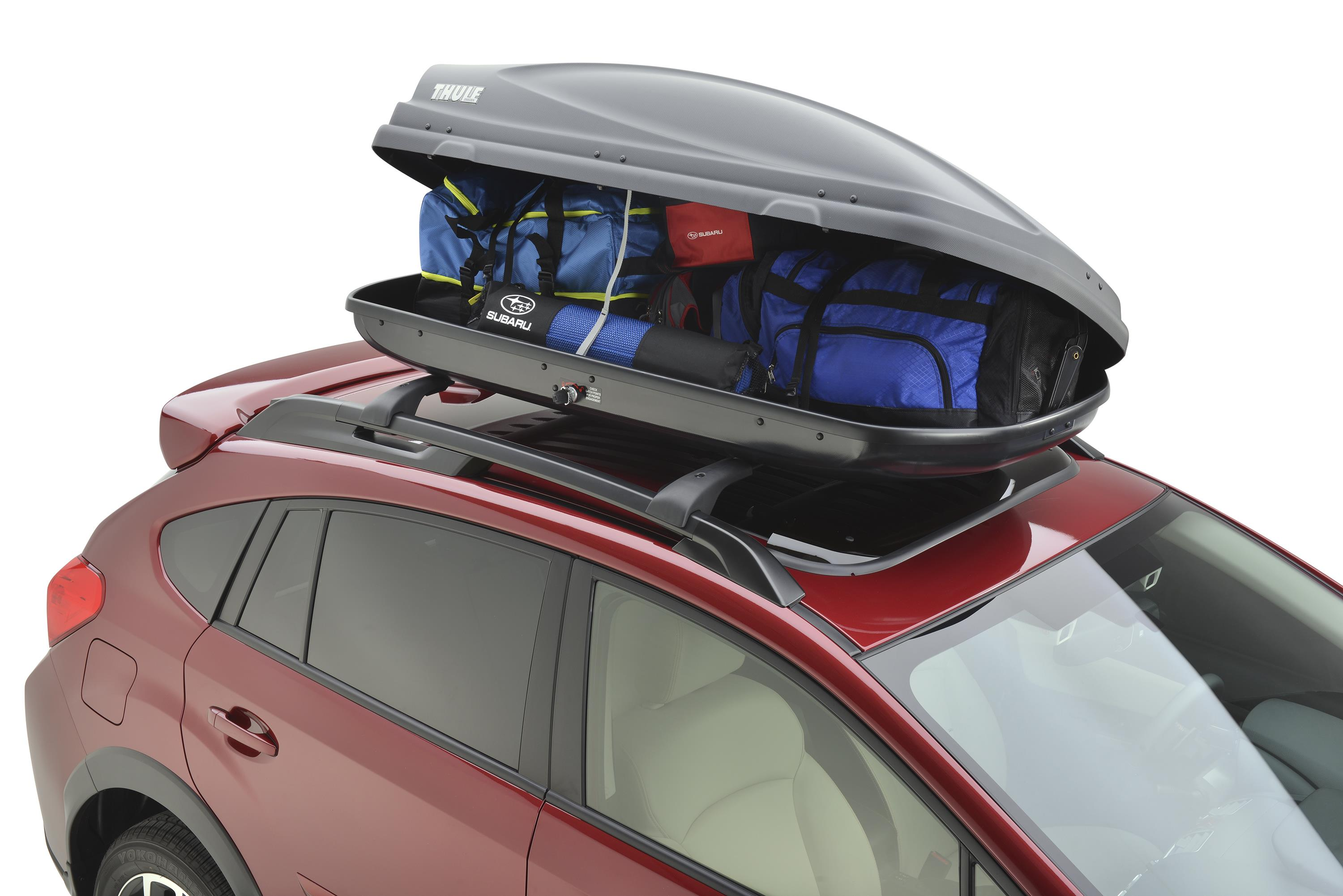 2016 Subaru Outback Roof Cargo Carrier Provides