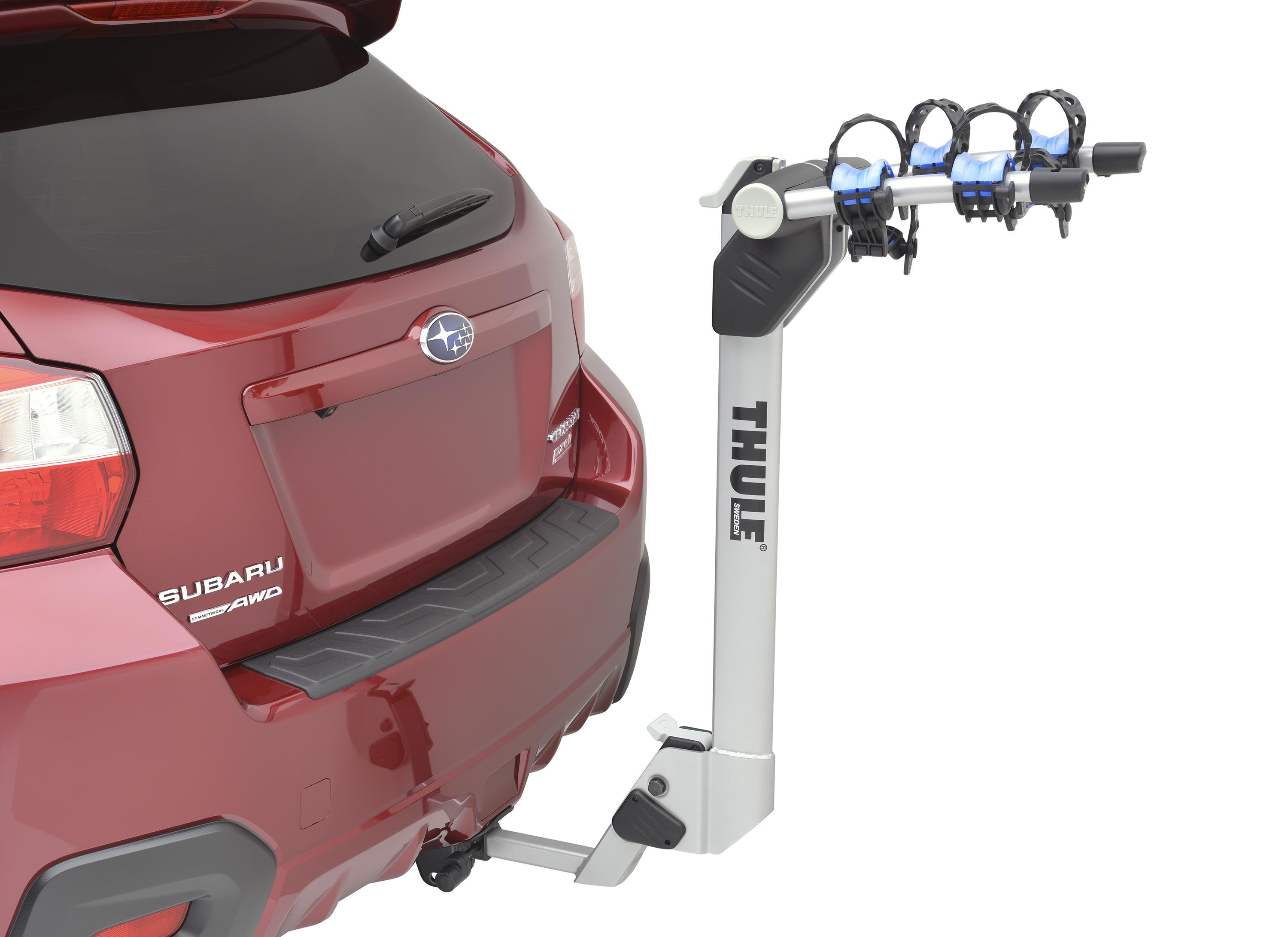 2018 Subaru Forester Hitch mounted Bike carrier (Thule ...