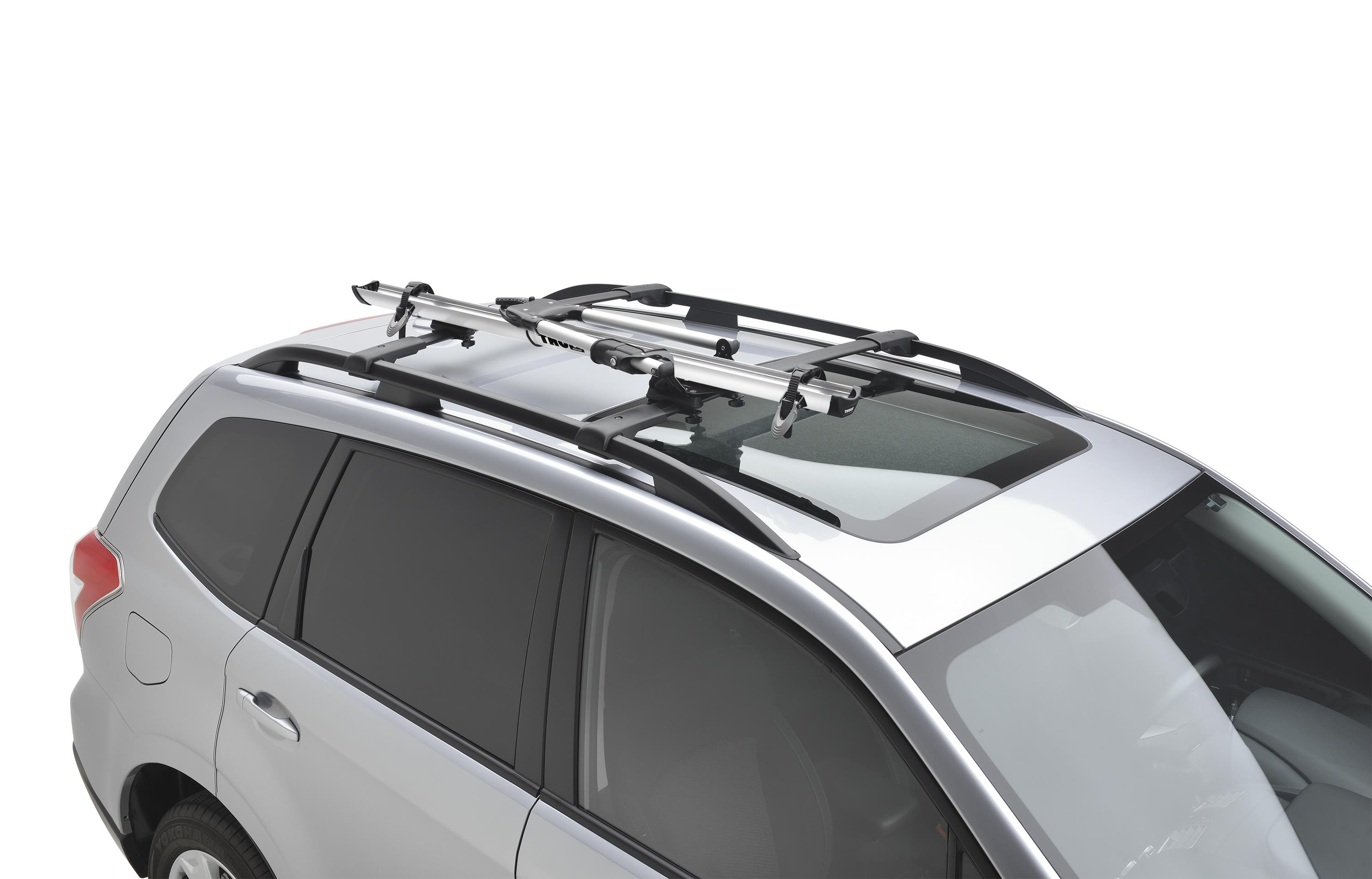 Subaru Crosstrek Roof Rack >> 2017 Subaru Outback Thule® Bike Carrier - Roof Mounted - SOA567B020 - Genuine Subaru Accessory