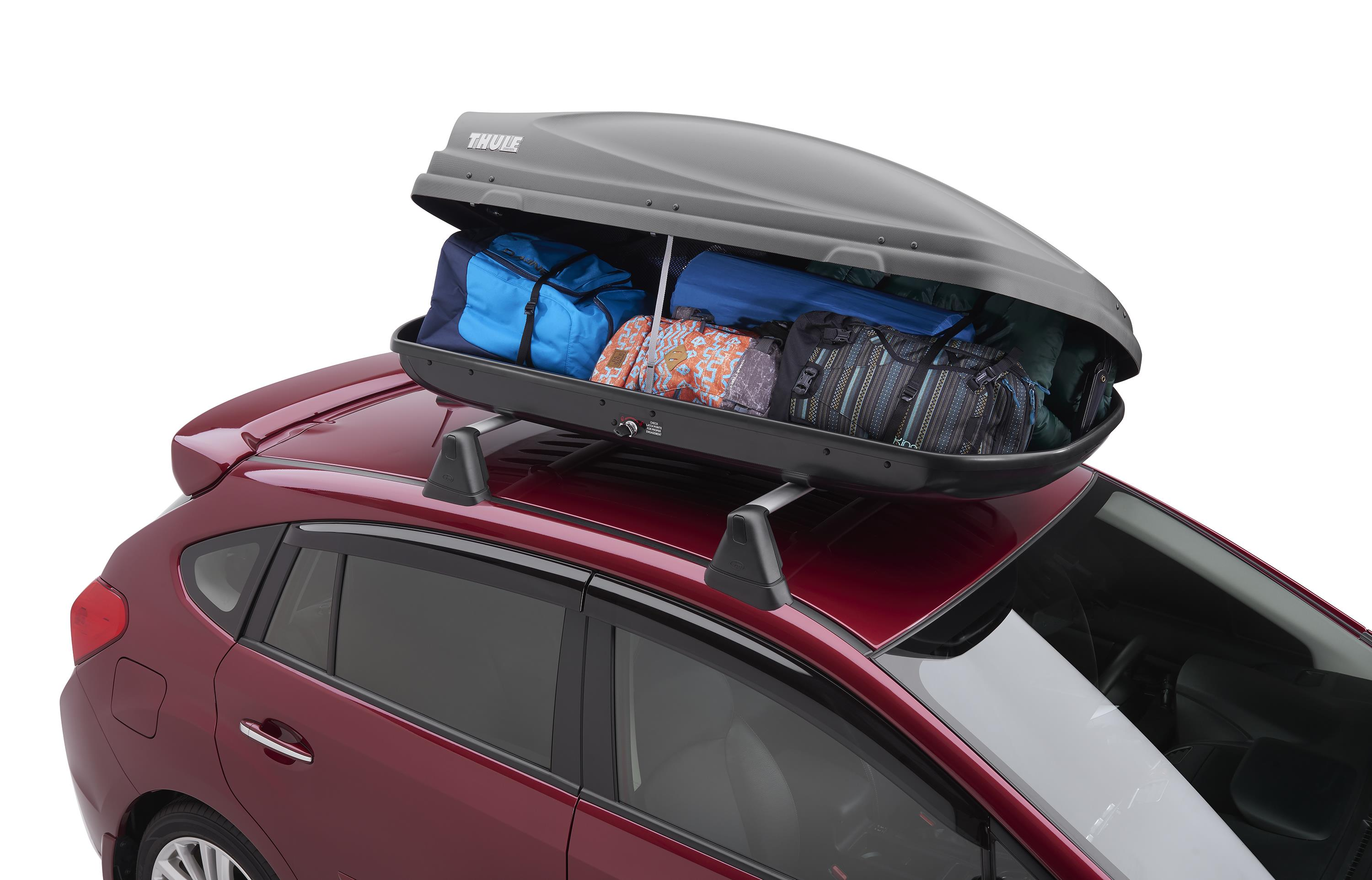 2016 Subaru Outback Roof Cargo Carrier Provides Side