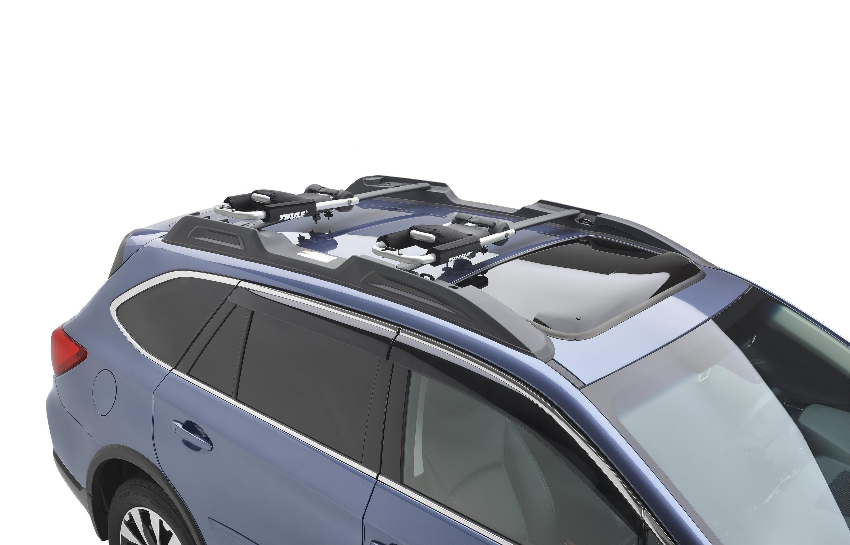 Subaru Crosstrek Accessories >> 2018 Subaru WRX Kayak Carrier (Thule). Wide - SOA567K010 ...