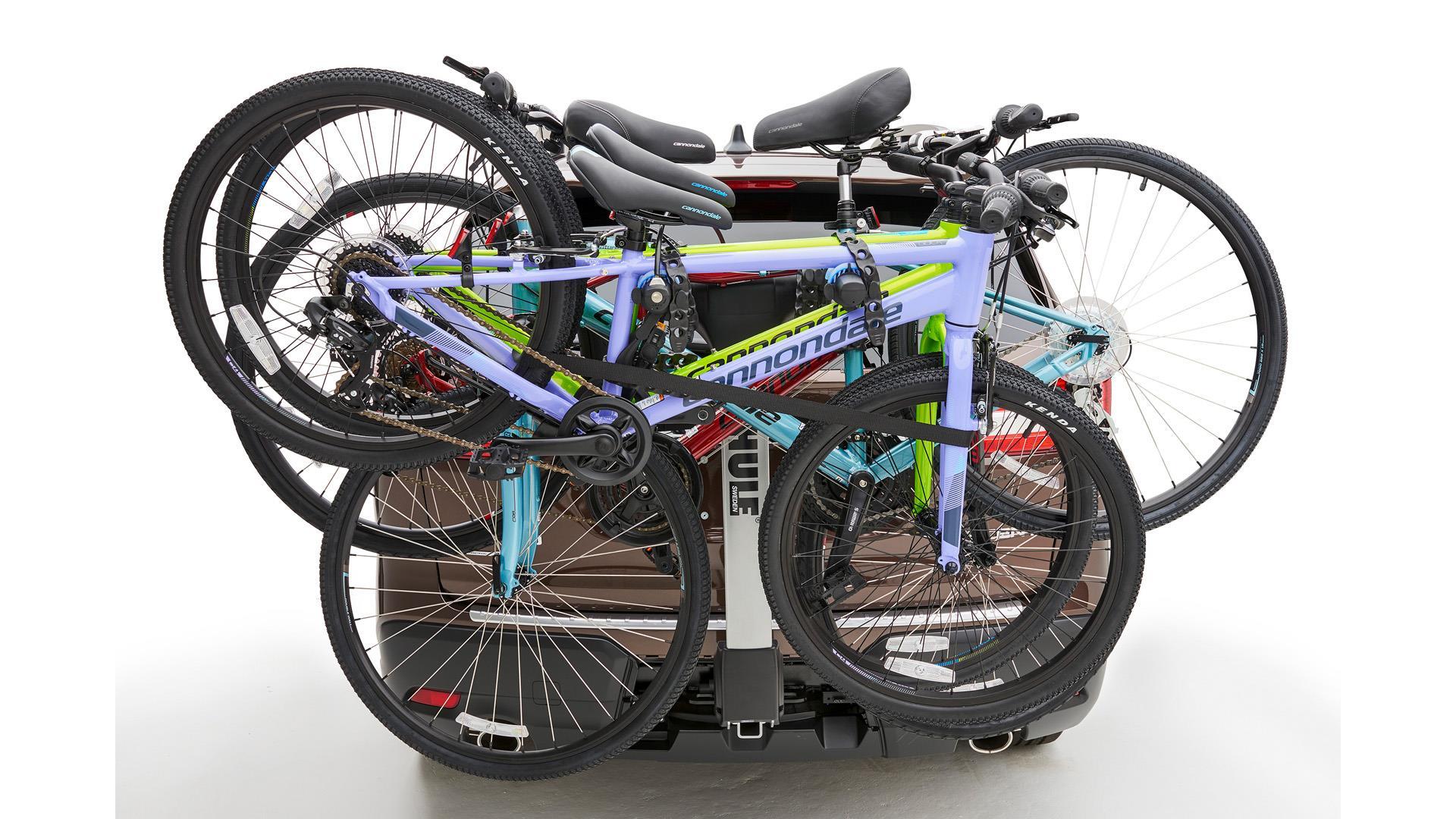 Subaru Ascent Thule 174 Bike Carrier Hitch Mounted 4