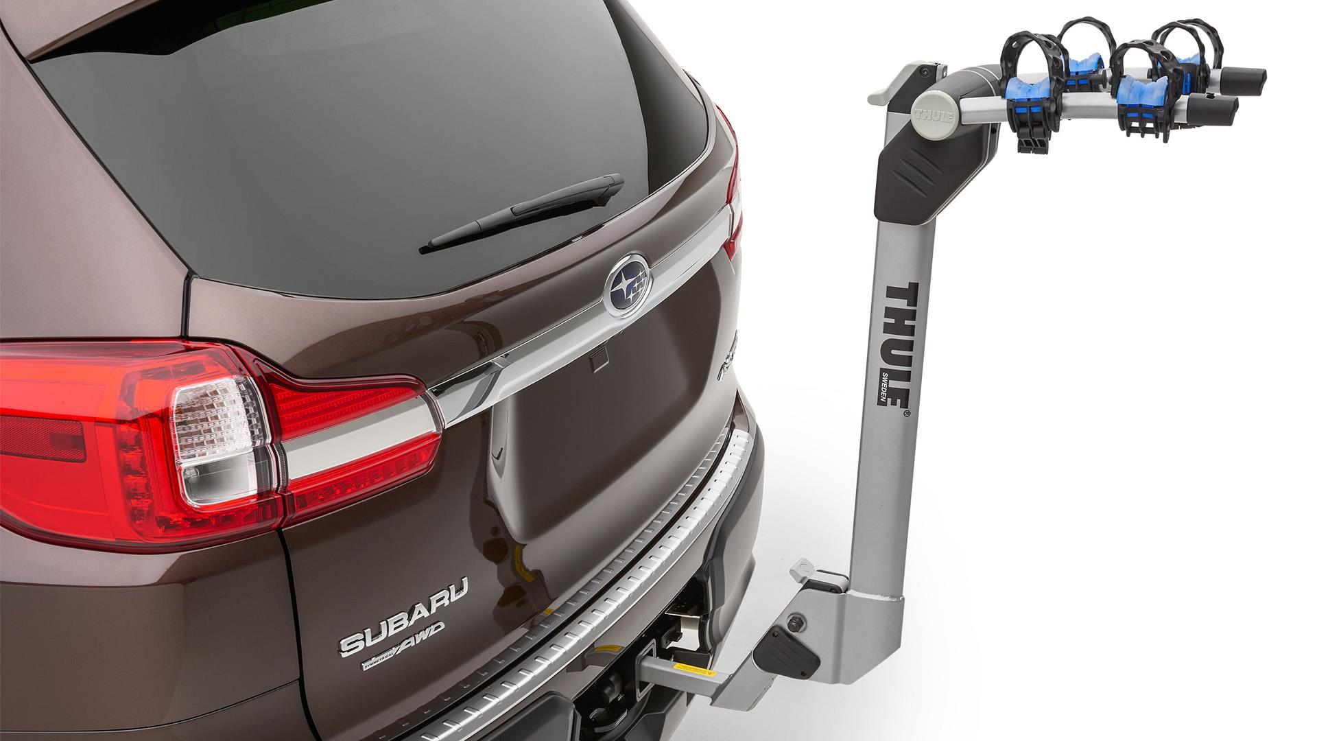2019 Subaru Forester Thule 174 Bike Carrier Hitch Mounted