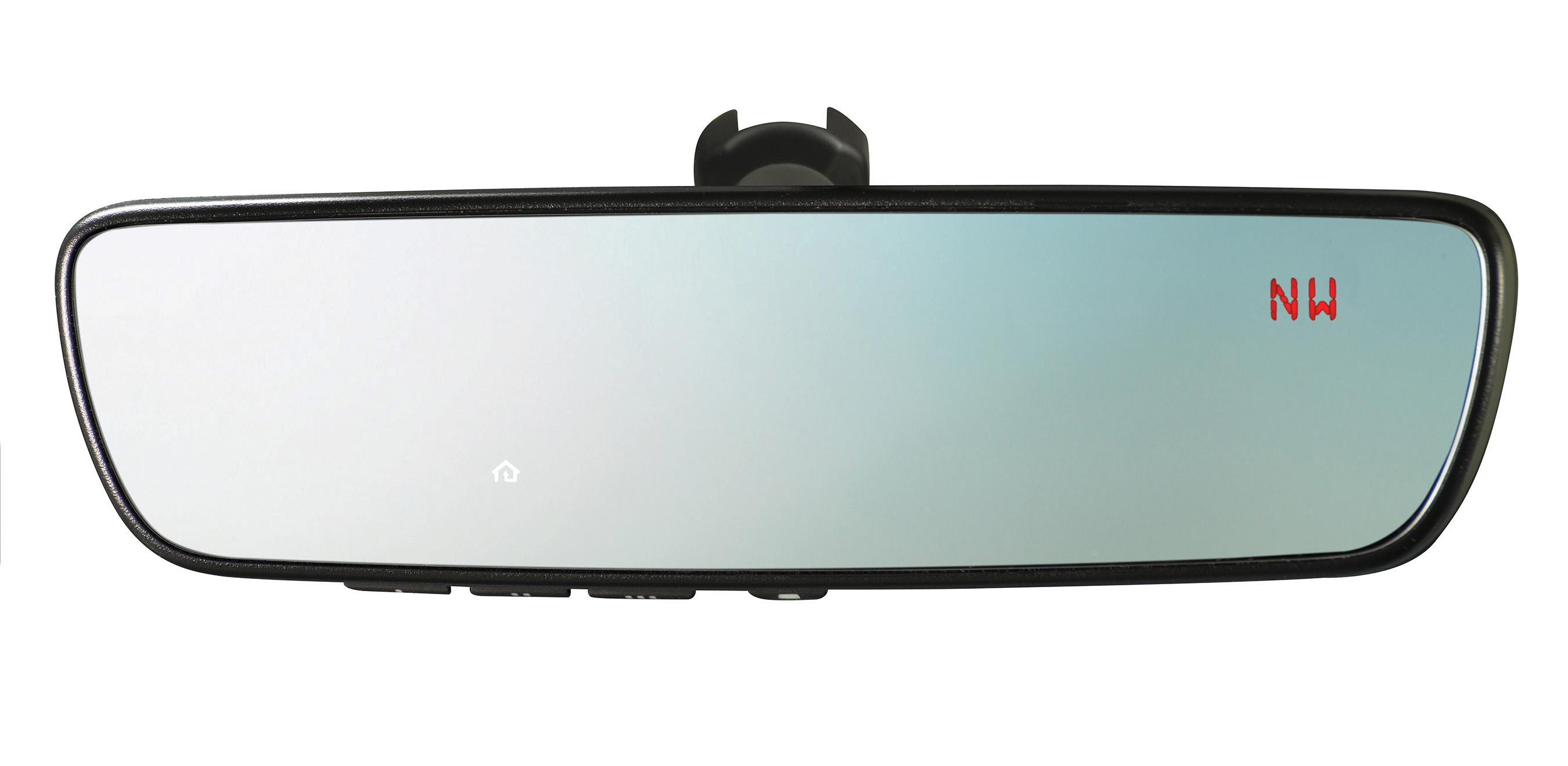 2019 Subaru Outback Auto-dimming Mirror With Compass And Homelink U00ae - H501ssg304