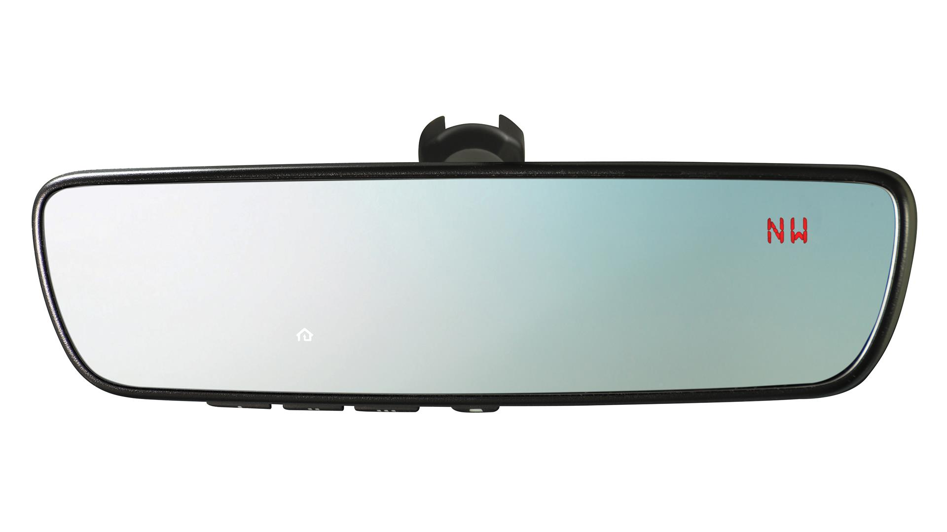 2017 Subaru STI Auto Dimming Mirror with Compass and HomeLink ®. Garage, Featuring - H501SVA100 ...