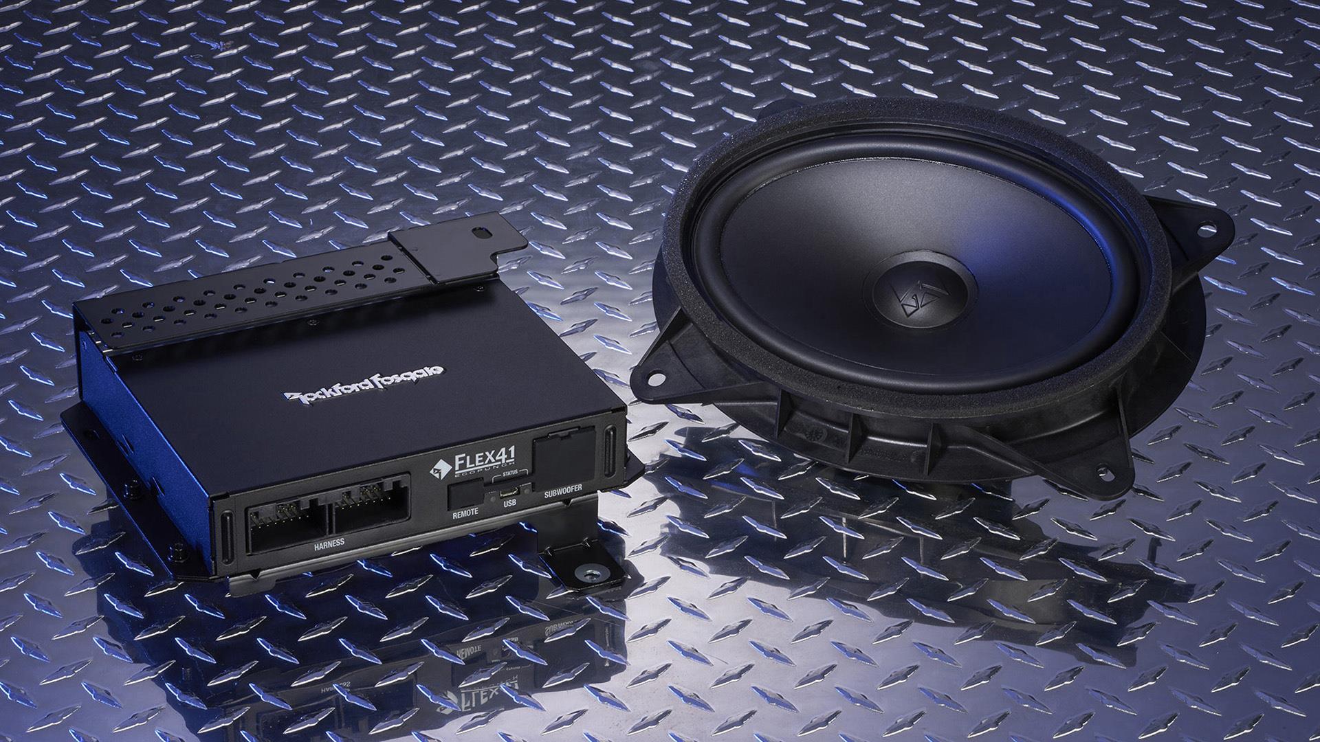 2018 Subaru Impreza Rockford Fosgate Audio Upgrade. System - H630SFL001 - Genuine Subaru Accessory