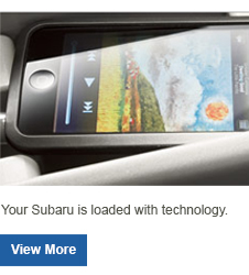Subaru Audio/Media Products